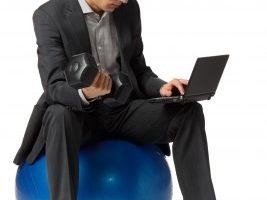 business_man_on_ball_chair