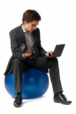 business_man_on_ball_chair
